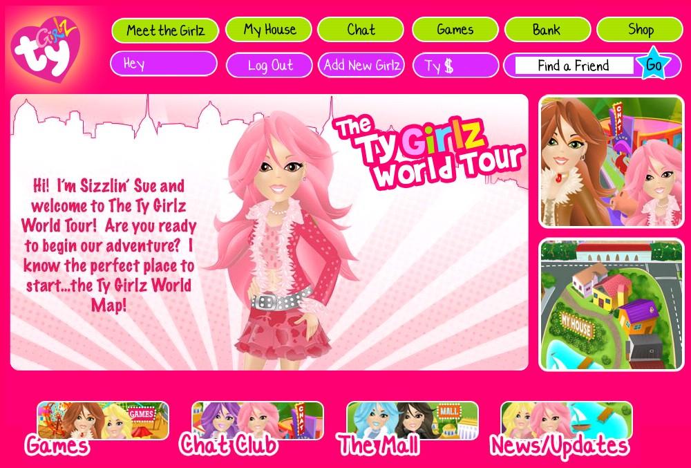 Ty girlz virtual world website